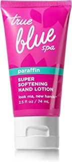 True Blue Spa Paraffin Super Softing Hand Lotion 2.5 Ounce Travel Size