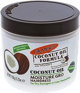 Palmer's Coconut Oil Formula Moisture Gro Hairdress Jar | 5.25 ounce