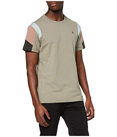 G-Star Motac Fabric Mix Round Neck T-Shirt (Shamrock) Men