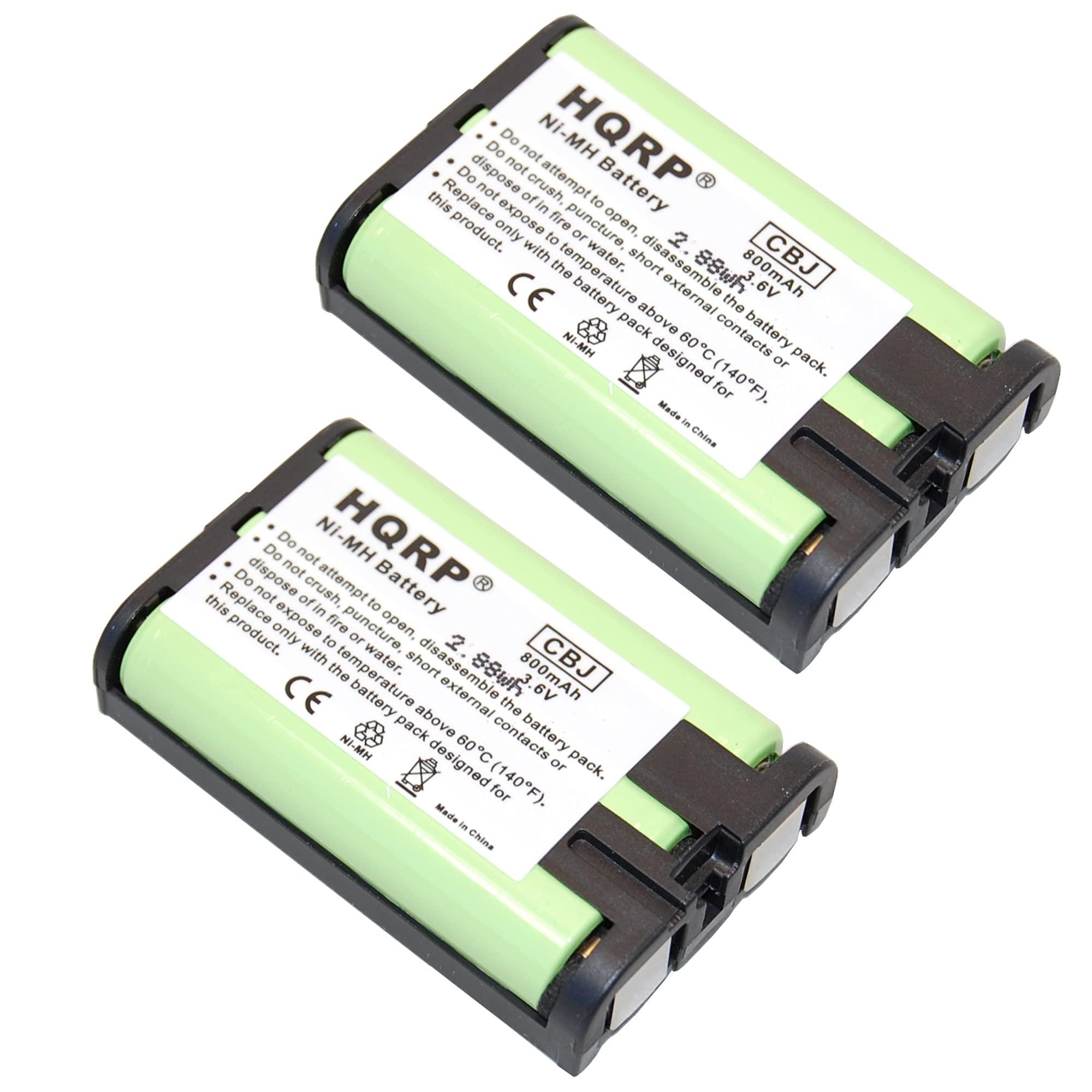 2 Bateria P/ Panasonic HHR-P107 HHR-P107A KX-TGA301 KX-TGA35