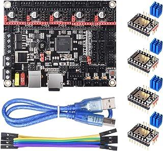 Diyeeni Carte Contr/ôleur Gen-L V1.0 pour Imprimante 3D Supporte Prise en Charge des Pilotes TMC2100 A4988 8825 MKS Integre Carte Mere Compatible avec Ramps1.4 LCD2004 LCD12864 TFT28 TFT32