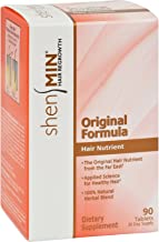 Shen Min Hair Nutrient Original Formula - 90 Tablets (Pack of 2)