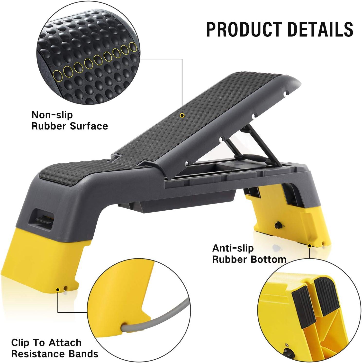 Buy ER KANG Adjustable Fitness Deck   Versatile Fitness Station ...