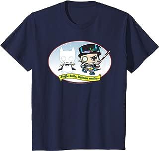 Kids DC Comics The Penguin Jingle Bells Batman Smells Christmas T-Shirt