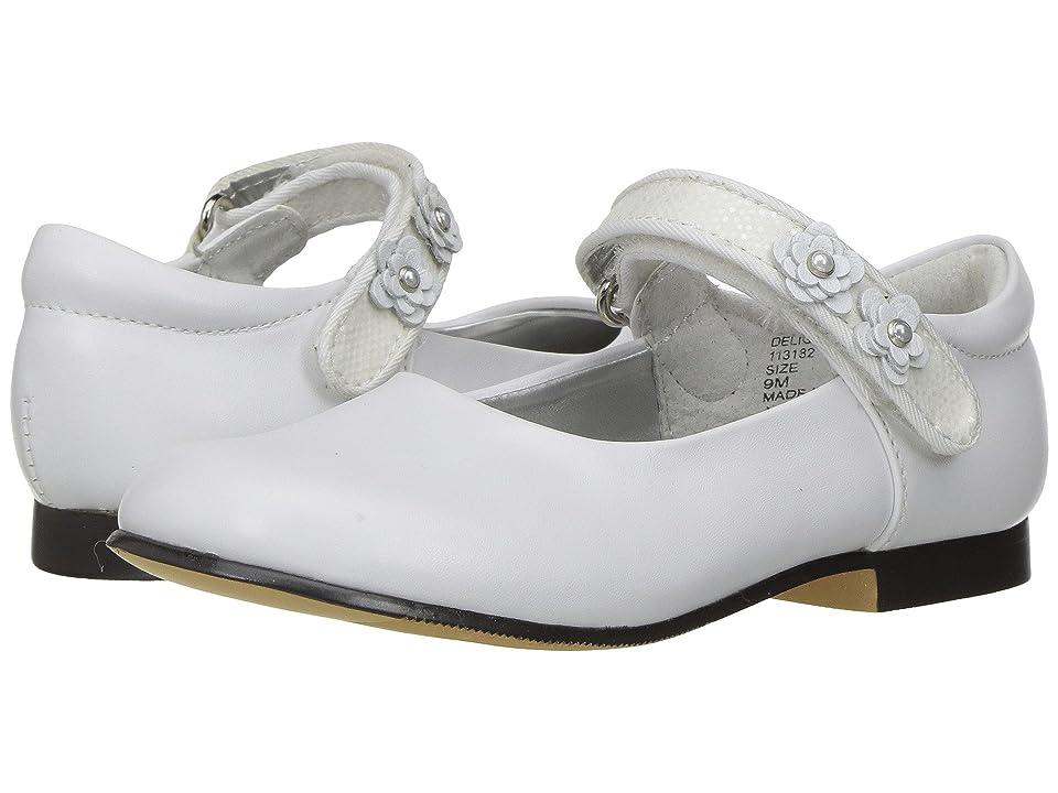 Jumping Jacks Kids Balleto Delight (Toddler/Little Kid) (White) Girls Shoes