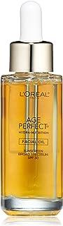 L'Oréal Paris Age Perfect Hydra-Nutrition SPF 30 Facial Oil, 1 fl. oz.