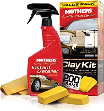 MOTHERS 07240 California Gold Clay Bar System, Packages: image