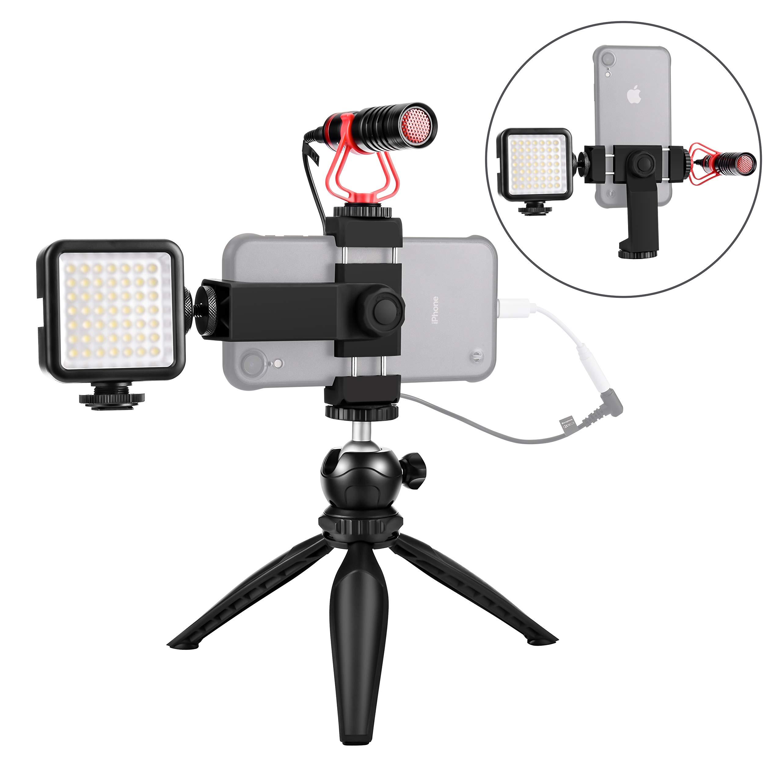 Smartphone Microphone Vertical Horizontal Filmmaker