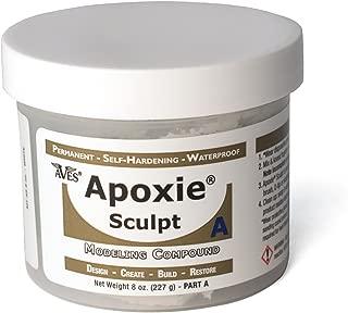 Apoxie Sculpt 1 lb. White, 2 Part Modeling Compound (A & B)