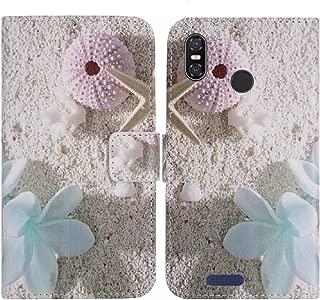 TienJueShi ヒトデ 耐汚れ Cover Case スタンド 財布 レザー 合皮 カード収納 カバー ケース ポーチ 手帳型 ulefone s9 pro 5.5 インチ