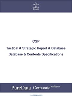 CSP: Tactical & Strategic Database Specifications - Nasdaq perspectives (Tactical & Strategic - United States Book 10311) (English Edition)