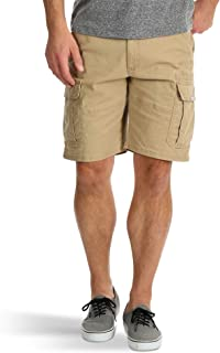 Grain Relaxed Fit at Knee Flex Cargo Shorts Brown