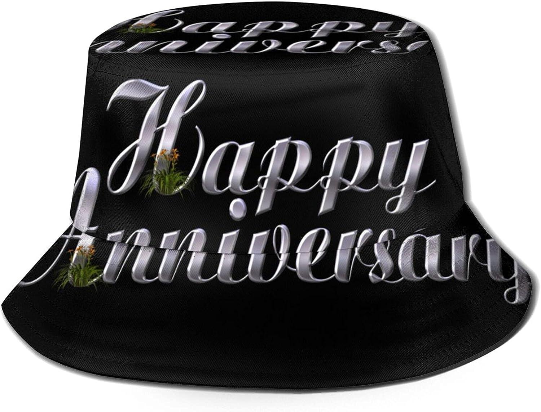 Funny Marriage Anniversary Bucket Hat Pack Brand new Sun Unisex Sacramento Mall Summer