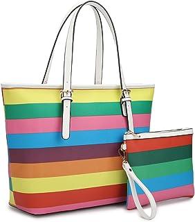 3ffa5586a1b6 Amazon.com: rainbow purse
