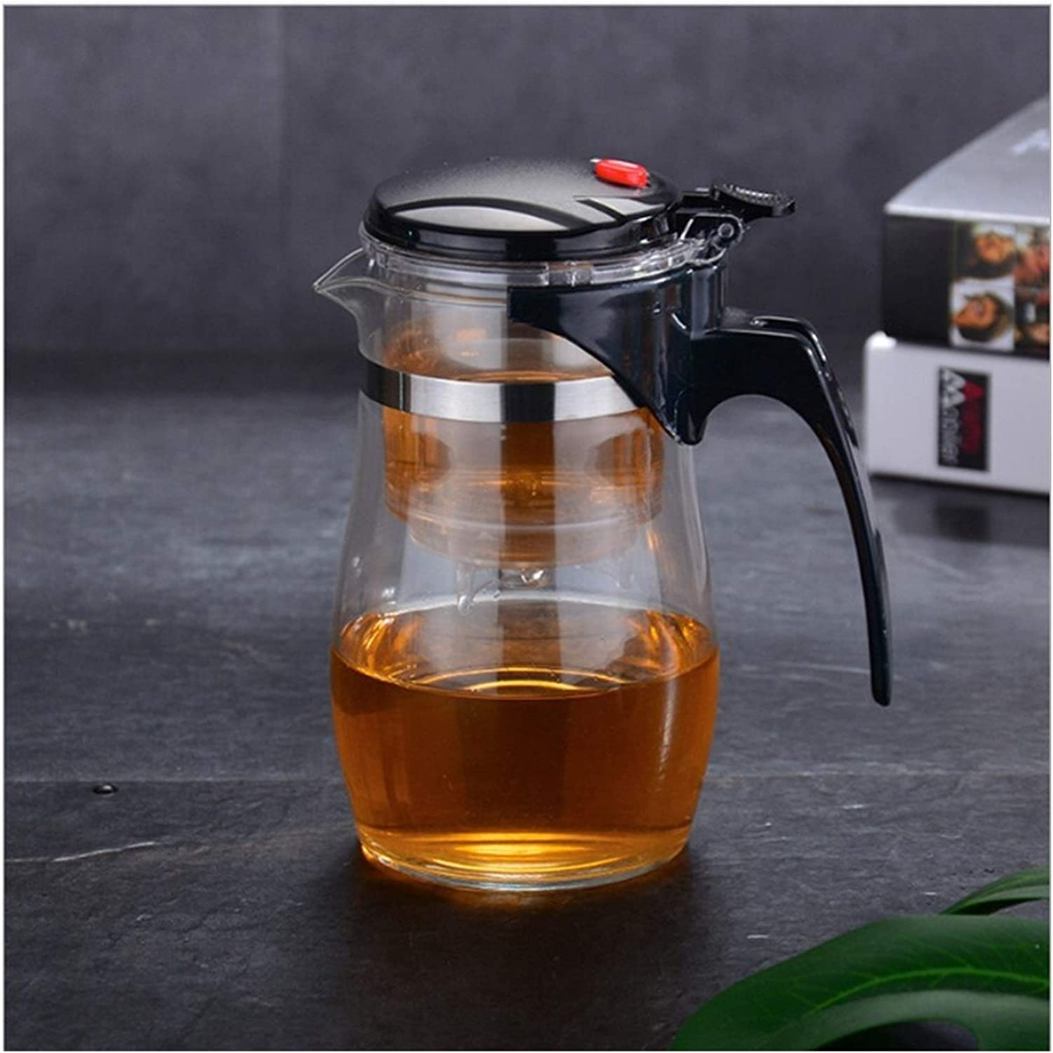 Baltimore New Free Shipping Mall Tea set Pots Heat Resistant Infuser Pot Glass Chines