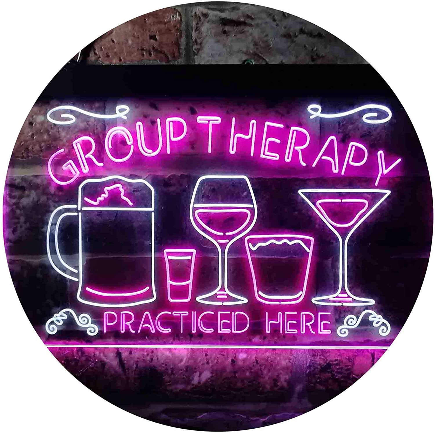 ADVPRO Beer Cocktails Group Therapy 2021 Dual Here Co Practiced Humor outlet