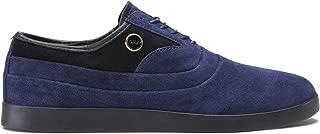 Supra Mens Greco Blue Suede Shoes Size 8