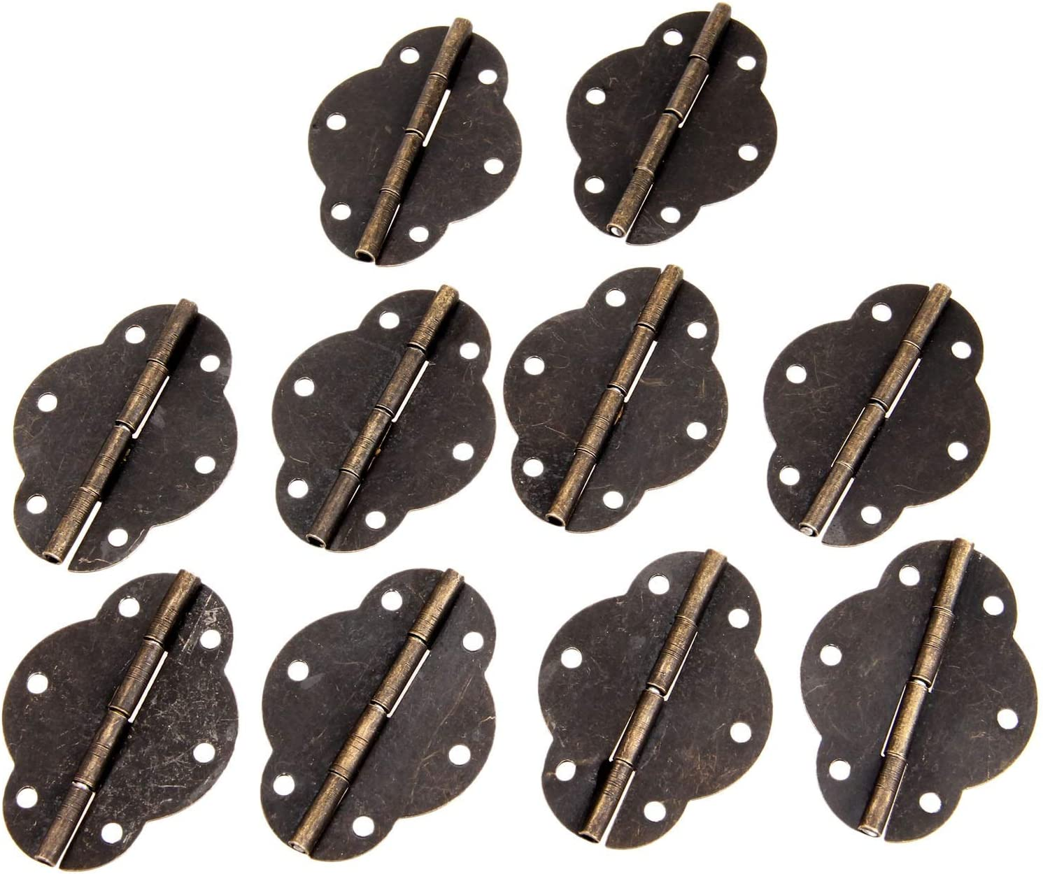 10Pcs 4634mm Antique Purchase Cabinet Very popular Hinges Door Gift Hinge Je Butt Wood