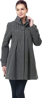 Outerwear Women's Jessie Wool Pleated Swing Coat Pregnancy Winter Jacket