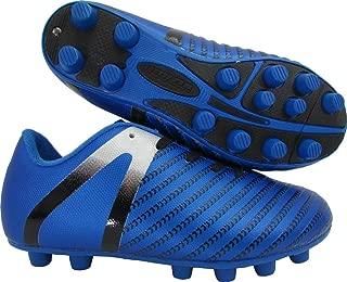 Baby Impact FG Soccer Shoe, Blue/Silver, 10 Regular US Toddler