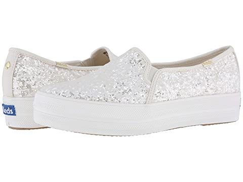 73fe57f4254bd Keds x kate spade new york Bridal Triple Decker Glitter at Luxury ...