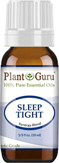 Sleep Tight Essential Oil Blend 10 ml 100% Pure Undiluted Therapeutic Grade. Good Night Aid, Relaxation, Depression, Stress, Anxiety Relief, Mood, Uplifting, Calming, Aromatherapy
