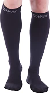 Sponsored Ad - Doc Miller Closed Toe Compression Socks 15-20mmHg Support Graduated Circulation Travel