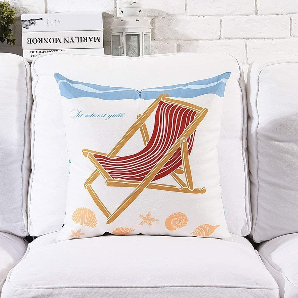 WPF Snug Mediterranean Chicago Mall Style Sofa Hold Cushion Pillow Office Nap Easy-to-use