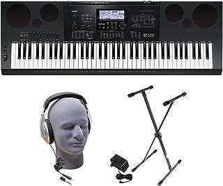 Casio WK-7600 PPK 76-Key Premium Portable Keyboard Package w