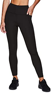 RBX Active Women's Fashion Full Length Solid Workout Running Yoga Leggings