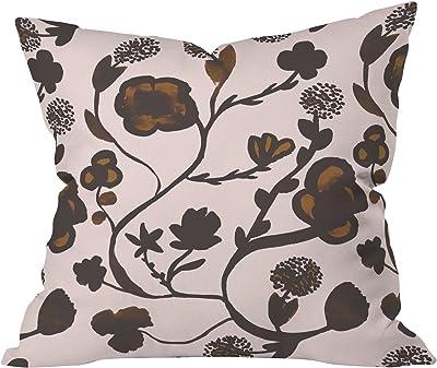 Deny Designs Georgiana Paraschiv Floral II Throw Pillow, 20 x 20
