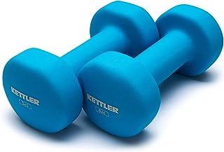 Kettler KAL701020ASLB Neoprene Dumbbell, Light Blue (Pair of 6kg)