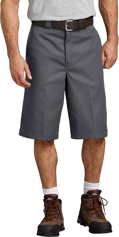 Dickies Men's Big  Tall 13 Inch Loose Fit Multi-Pocket Work Sho