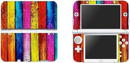 eSeeking Vinyl Cover Decals Skin Sticker for New Nintendo 3DS XL / LL - Rainbow Wood Grain