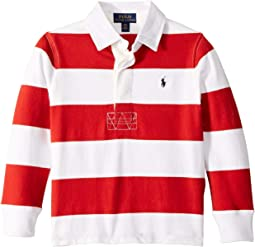 Striped Cotton Jersey Rugby (Toddler)