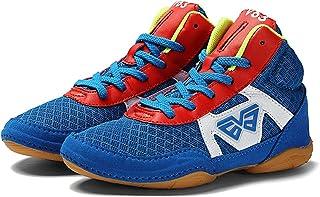 HwwPrime Children Boxing Shoes,Blue,34 EU