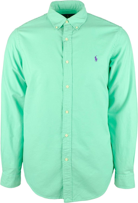 Men's Big and Tall Long Sleeve Oxford Shirt