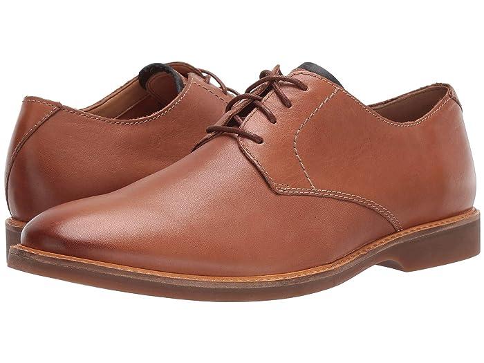 Clarks  Atticus Lace (Tan Leather 1) Mens Shoes
