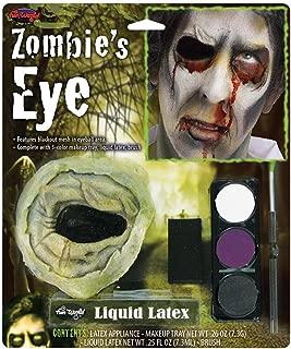 Fun World - Zombie's Eye Kit With Eye Makeup Accessory