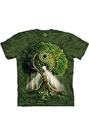 The Mountain Unisexe Adulte Tete De Chat Noir T Shirt