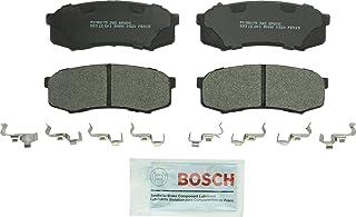 طقم وسادة فرامل قرصية ممتازة كوايت كاست من بوش BP606 من أجل: Lexus GX460, GX470, LX450; Toyota 4Runner, FJ Cruiser, Land C...