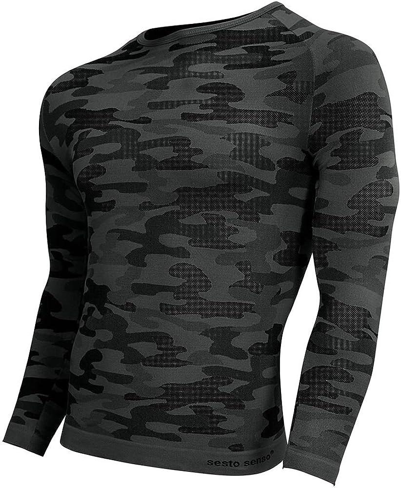 Sesto Senso Long Sleeved Top Comouflage Militaria DLR