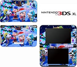 Animal Crossing New Leaf Winter Season Decorative Video Game Decal Skin Sticker Cover for Nintendo 3DS XL