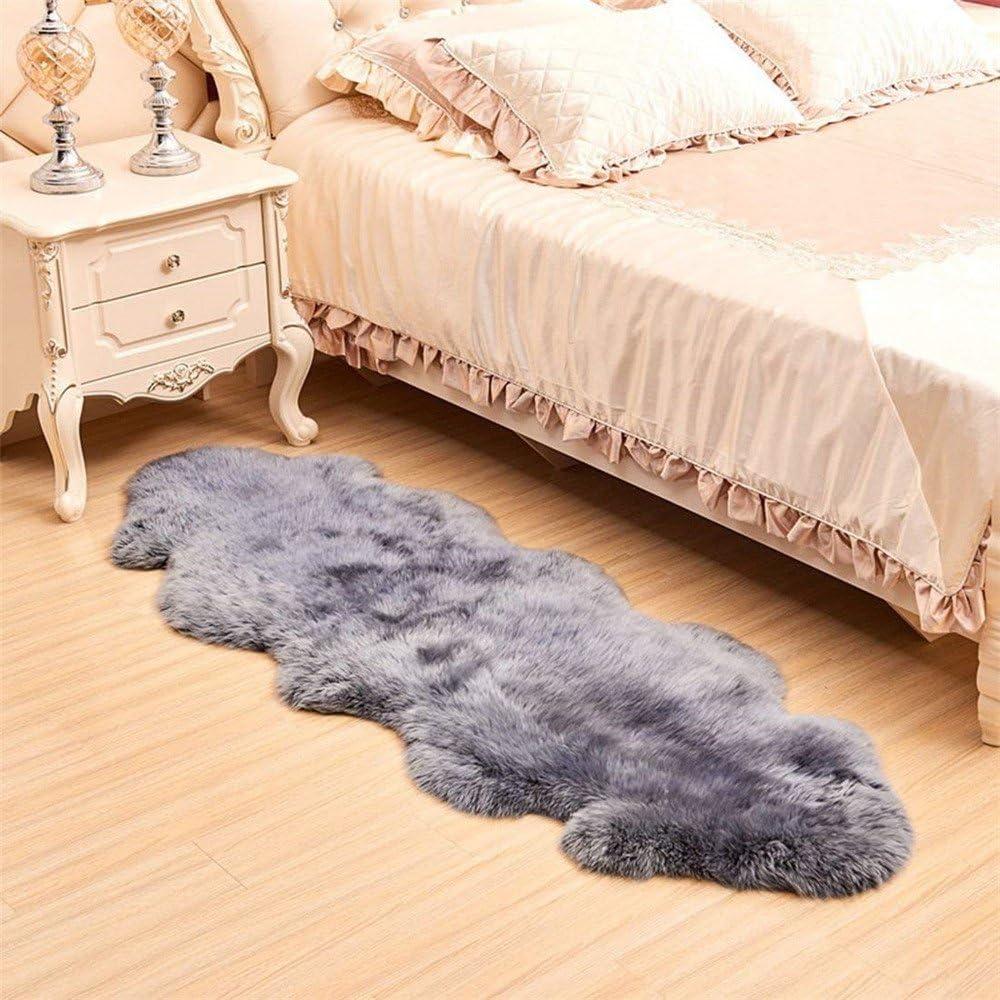 Max 57% OFF FOLWEP Luxurious Genuine Sheepskin Rug Natural Low price Fur Blanket Soft