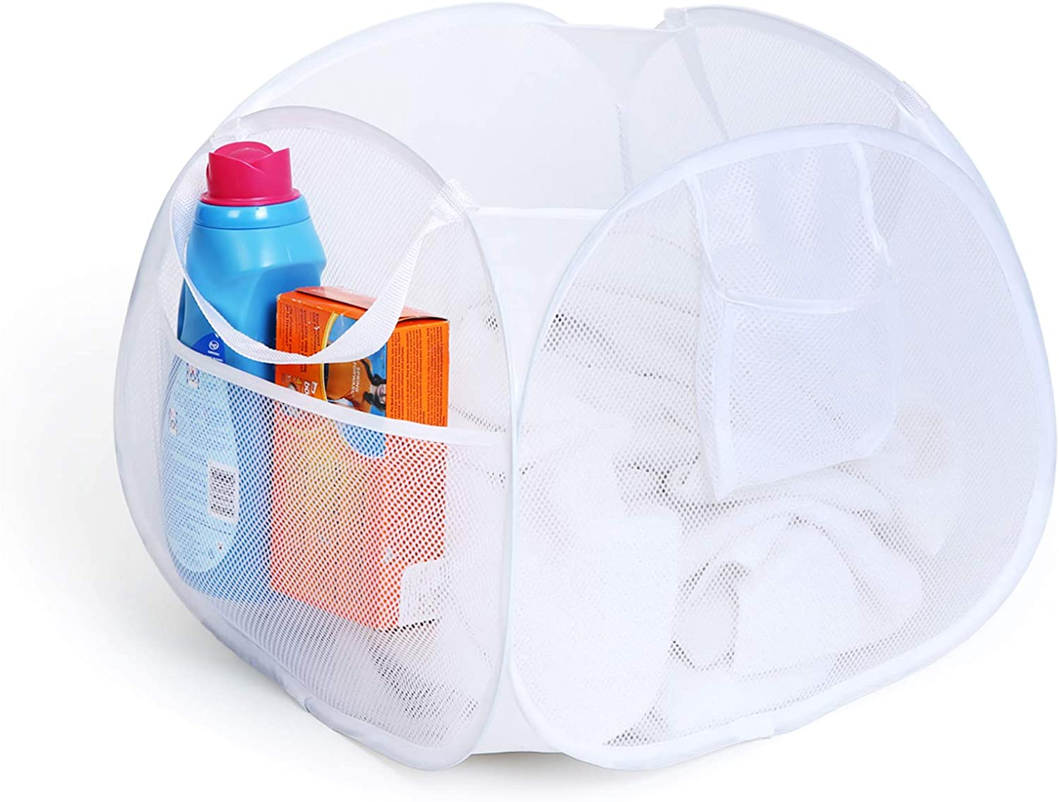Pro-Mart DAZZ Deluxe sold out Regular store Pop-Up Pyramid Hamper White