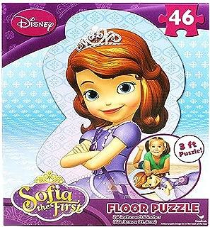 Disney Princess Sofia the First 46 Piece Shaped Floor Puzzle