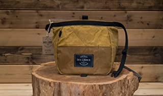 LIMITED EDITION | Waxed Canvas Chalk Bucket | MUSTARD (Made in the USA)