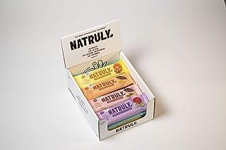 NATRULY Biologische Energierepen, Zonder Toegevoegde Suikers, 100% Natuurlijk & Biologisch, Glutenvrij, Vegan, 7 Smaken - ...