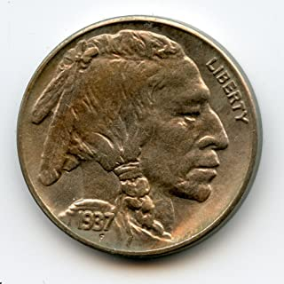 1937 S Indian Head Buffalo Nickel MS-65