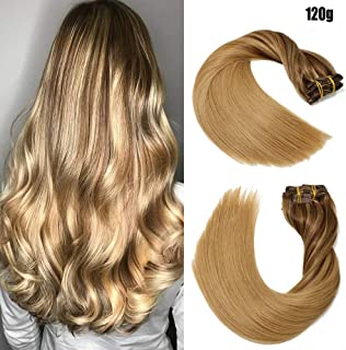 Best affordable remy clip in hair extensions Reviews